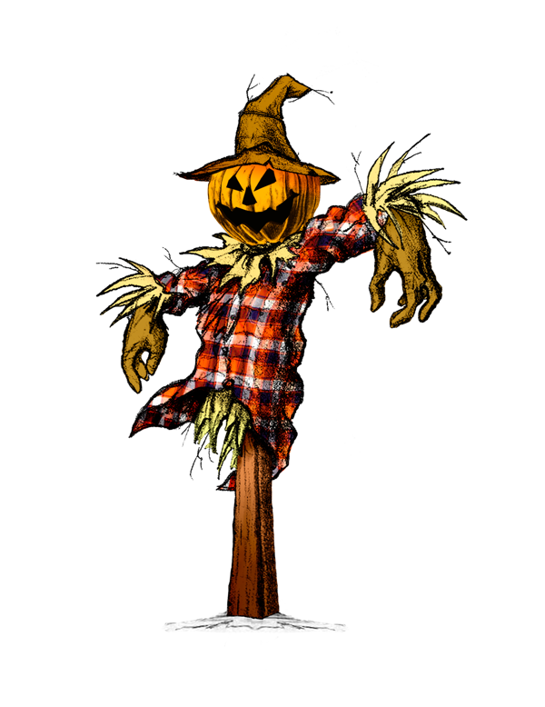 Creepy scarecrows | Scary Scarecrow Drawings | Scarecrow ...