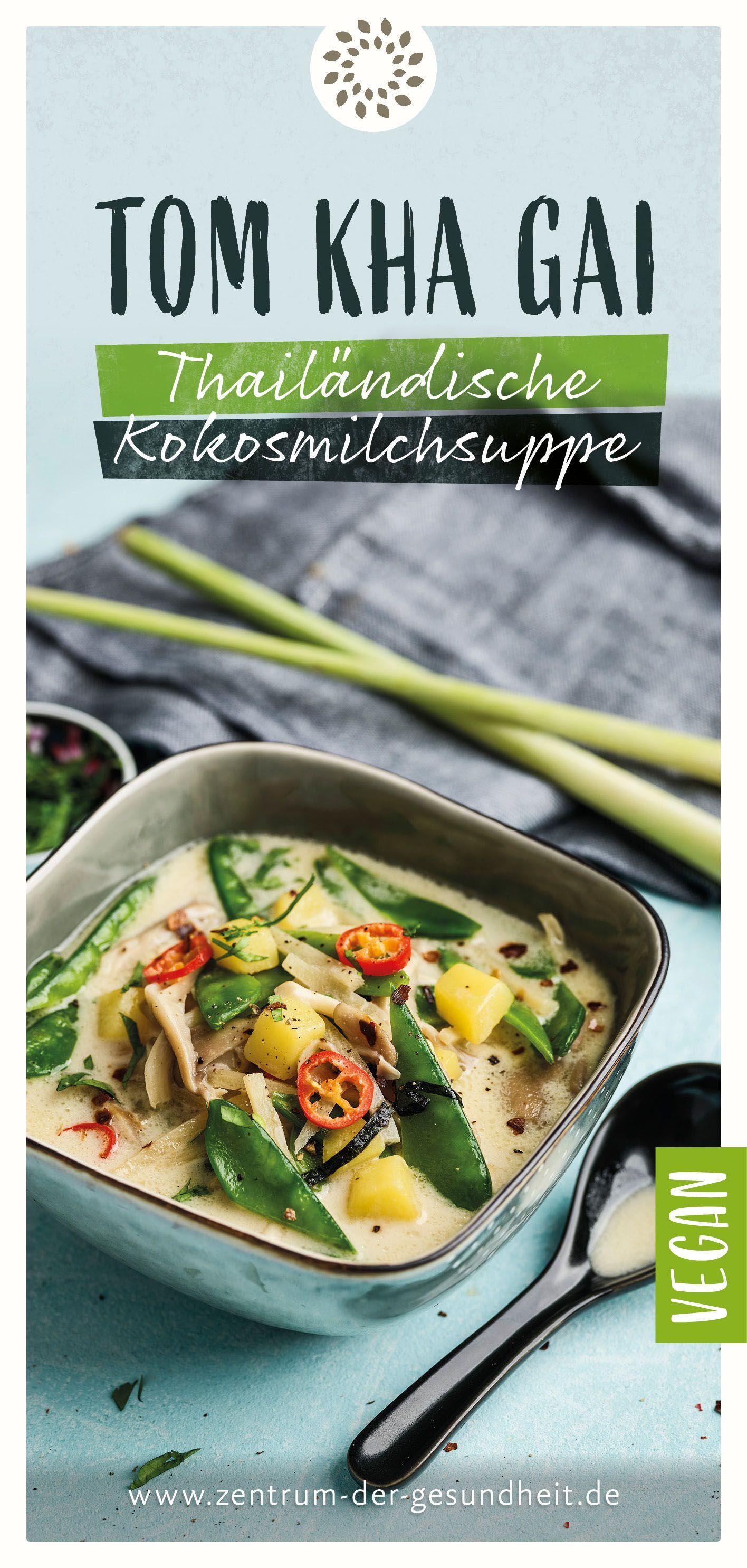 Photo of Coconut Milk Soup – Thai (Tom Kha Gai)