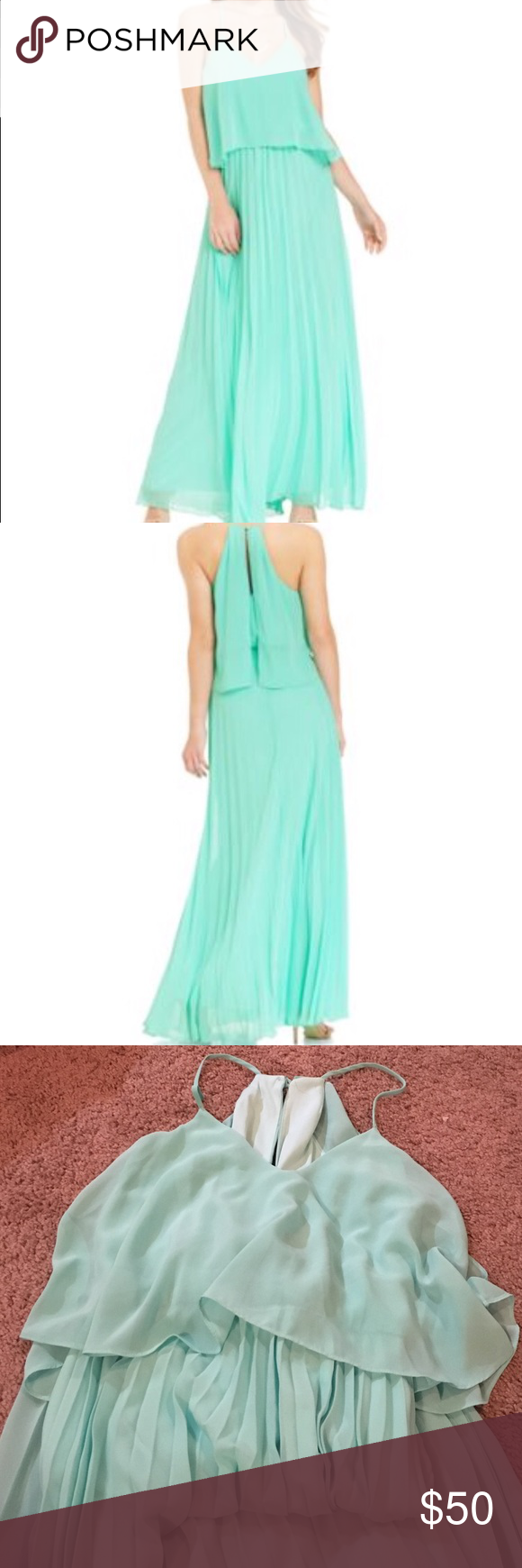 B darlin maxi dress size in great condition only been used