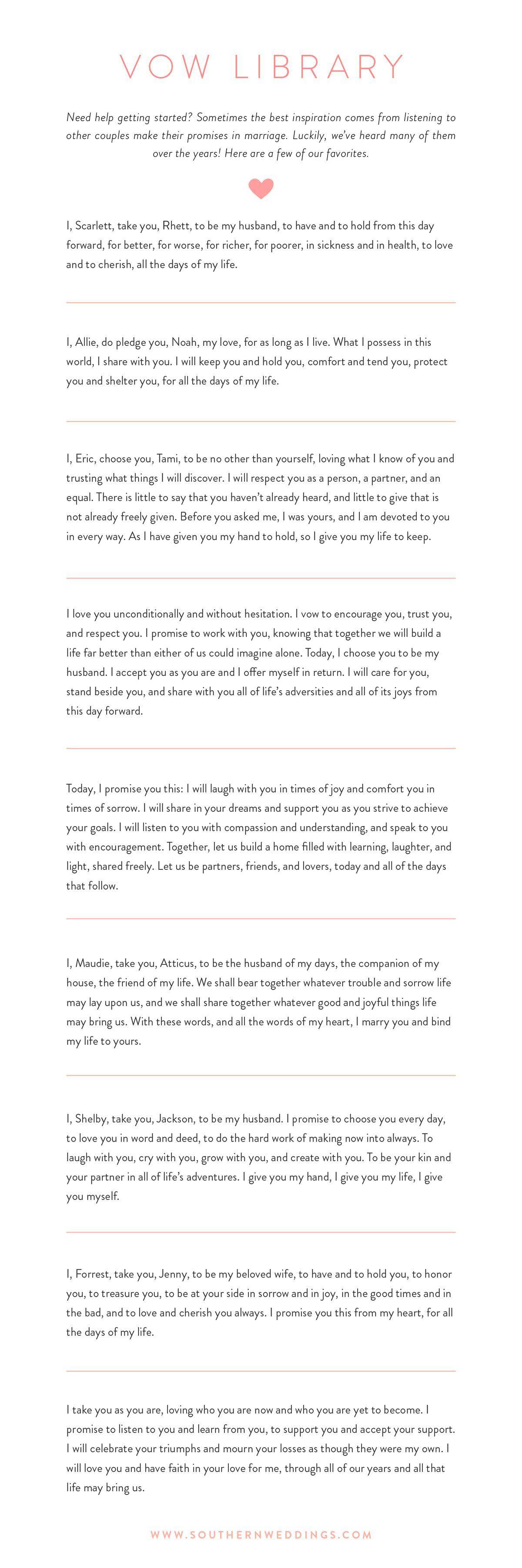 Simple Wedding Ceremony Script.Bride Wedding Vows 10 Best Photos Wedding Boda