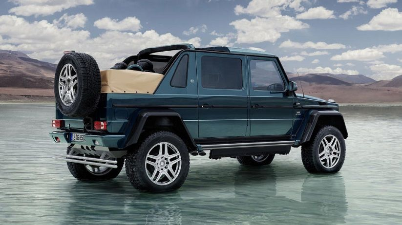 Mercedes Maybach G Wagon Rear View With Images Mercedes