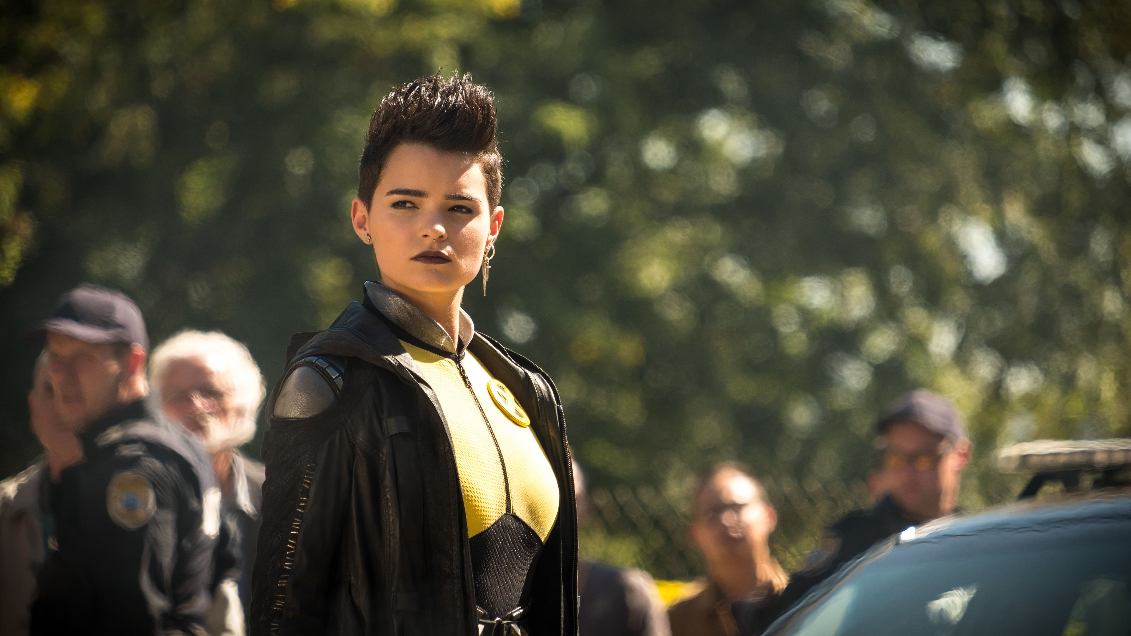 Negasonic Teenage Warhead In Deadpool 2 Movies Wallpapers Hd Wallpapers Deadpool 2 Wallpapers 5k Wallpapers 4 Teenage Warhead Brianna Hildebrand New Movies