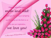 Happy Anniversary Mom And Dad Variety Parents Anniversary Happy