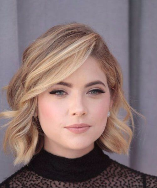 15++ Hairstyles for short necks and round faces trends