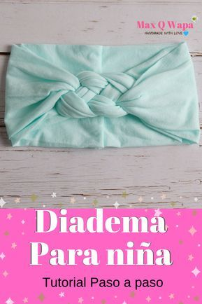 Como hacer diademas, cintillos o tiaras  para niña, fácil, rápida y bonitas, …