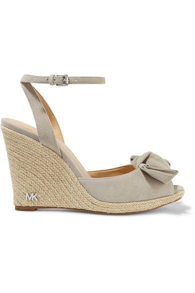 c0065475a777 MICHAEL MICHAEL KORS Willa Suede Espadrille Wedge Sandals.   michaelmichaelkors  shoes  espadrilles