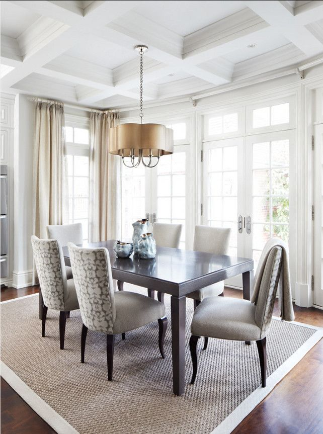 Dining Room Design Ideas With Neutral Decor DiningRoom