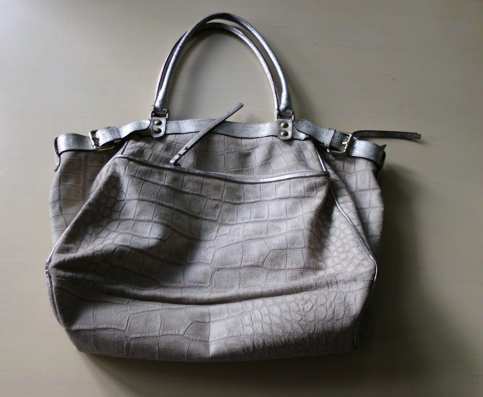Cavalcanti Handbag Genuine Leather Made In Italy