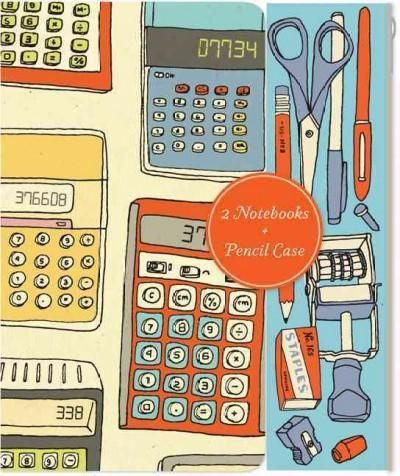 Notes and Calculations: Notebooks and Pencil Case Set