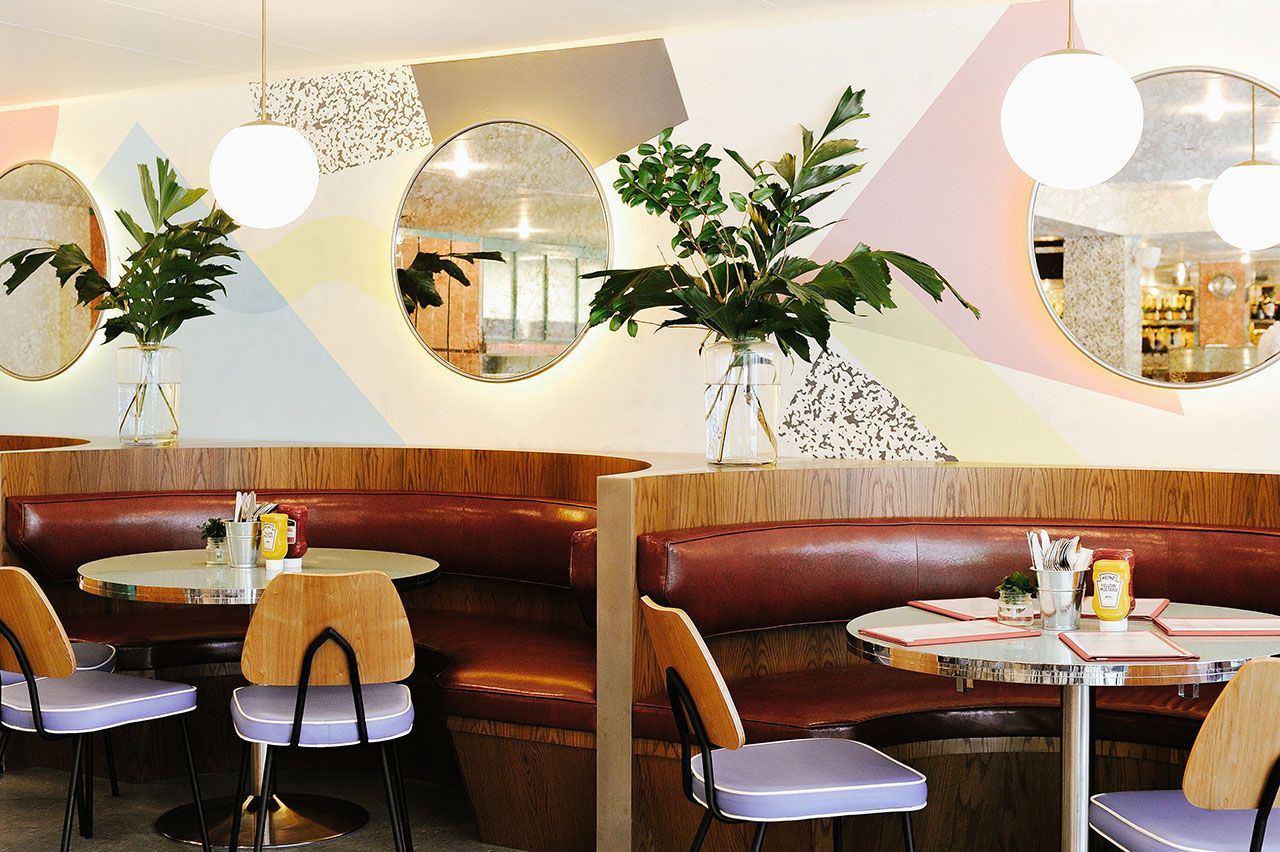 Overeasy Orchard A Modern All Pastel Nostalgic Diner In Singapore Dining Room Decor Room Decor Decor