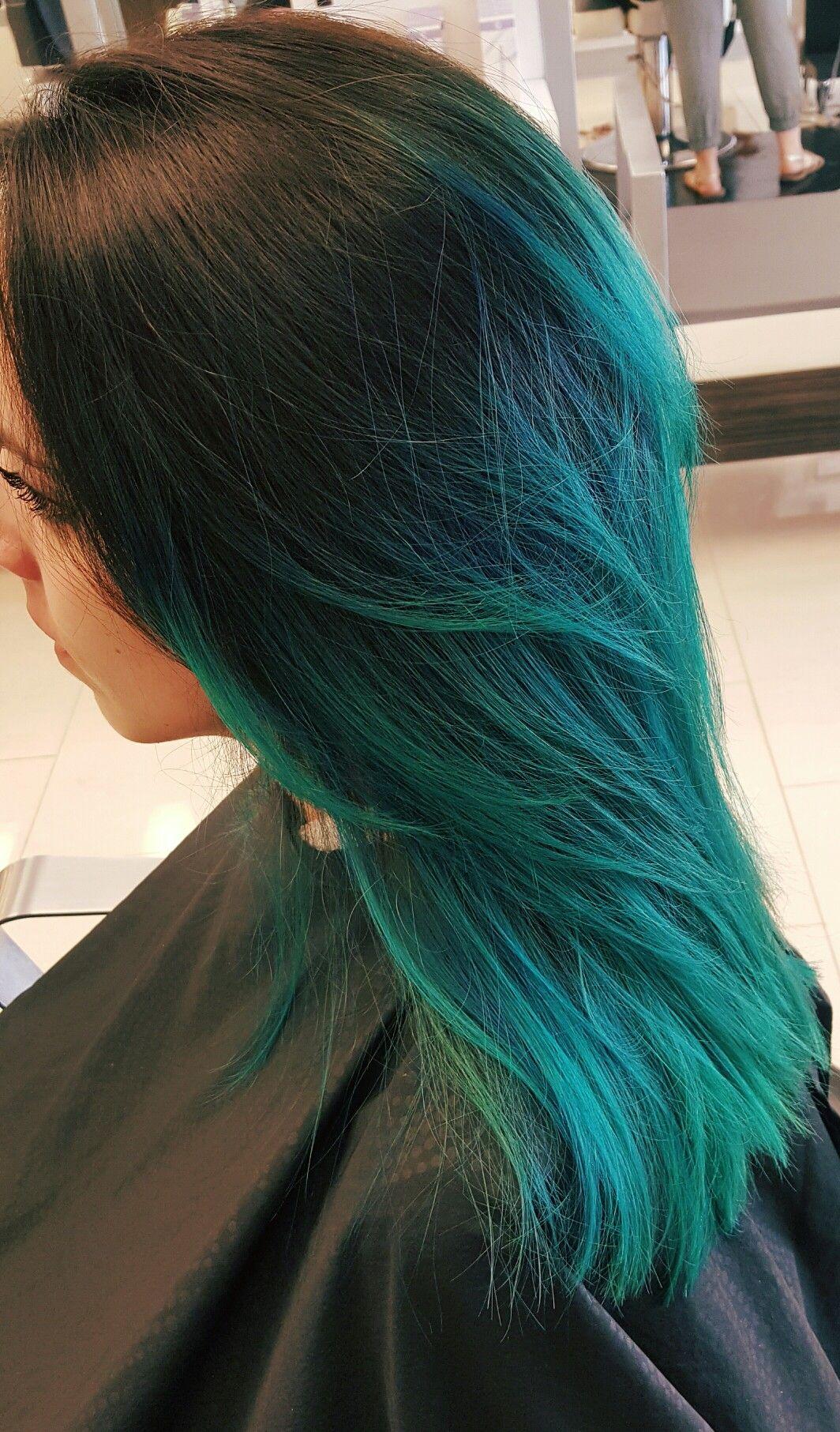 Mermaid Color Melt Clary Sage Salon And Spa Broken Arrow Oklahoma