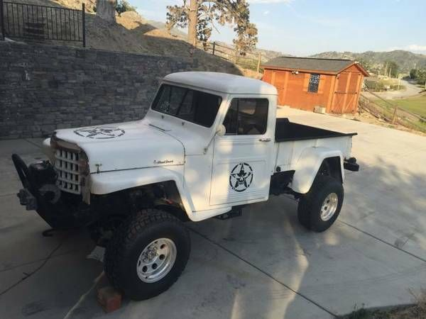 1948 Truck Lancaster Ca Jpg 600 450 With Images Willys