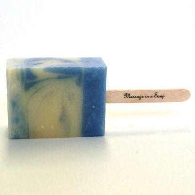メッセージ・インナ・ソープ Ice cream soap bar mini Soda milk 65g