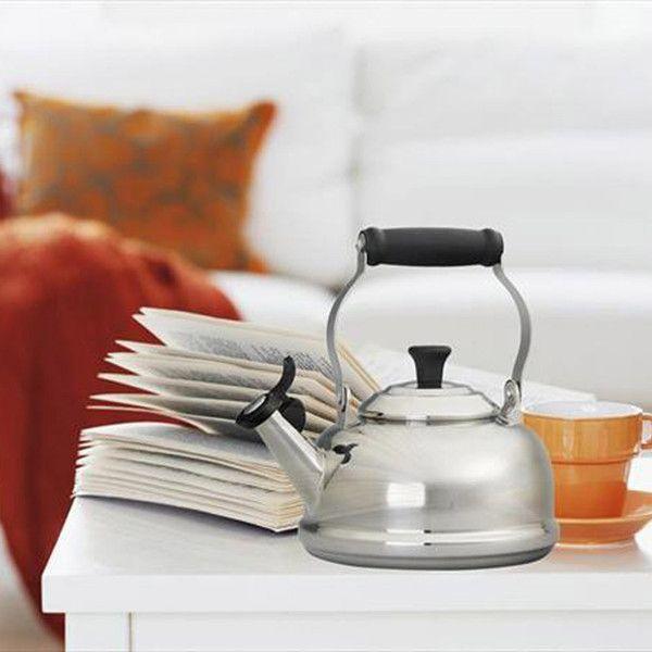 Tetera Tea Time Le Creuset acero inox.