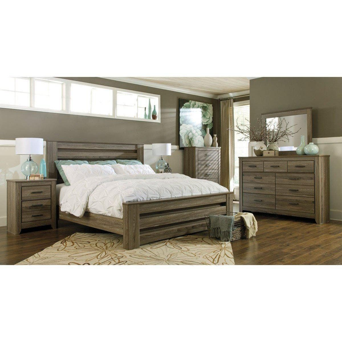 Jennifer Convertibles Bedroom Set Zachary Bedroom Package in 4
