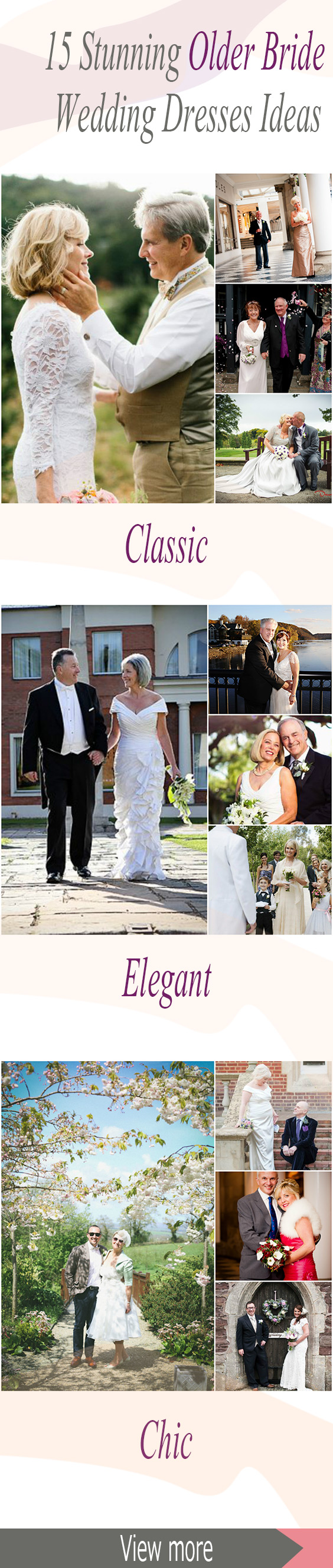Stunning older bride wedding dress, for older bride dresses over ...