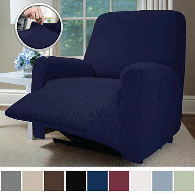Amazon Com Sofa Shield Original Fitted 1 Piece Recliner Slipcover Soft Stretch Material Seat Width Up To 28 Inch F Furniture Slipcovers Slipcovers Furniture