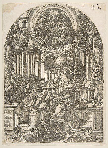 Revelation of Saint John the Evangelist, from the ...