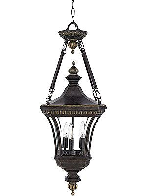 Antique Outdoor Light Fixtures Devon Large Hanging Lantern In Imperial Bronze