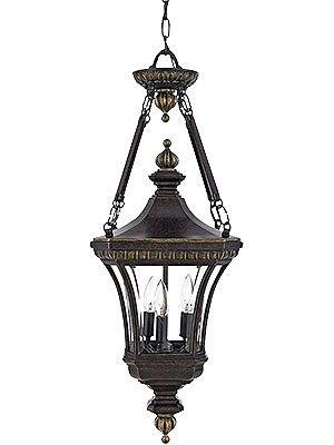 Antique Outdoor Light Fixtures Devon Large Hanging Lantern In