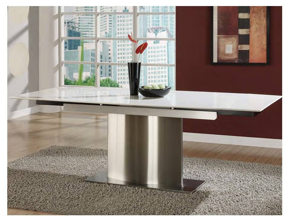 Aviss Extendable Marble Dining Table