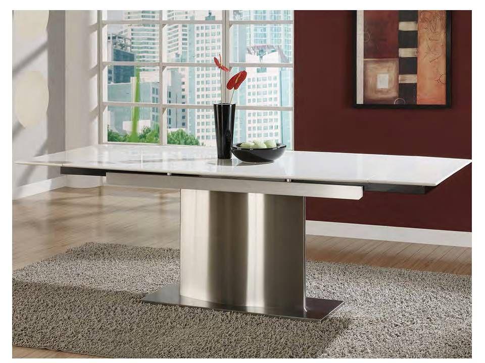 Aviss Extendable Marble Dining Table