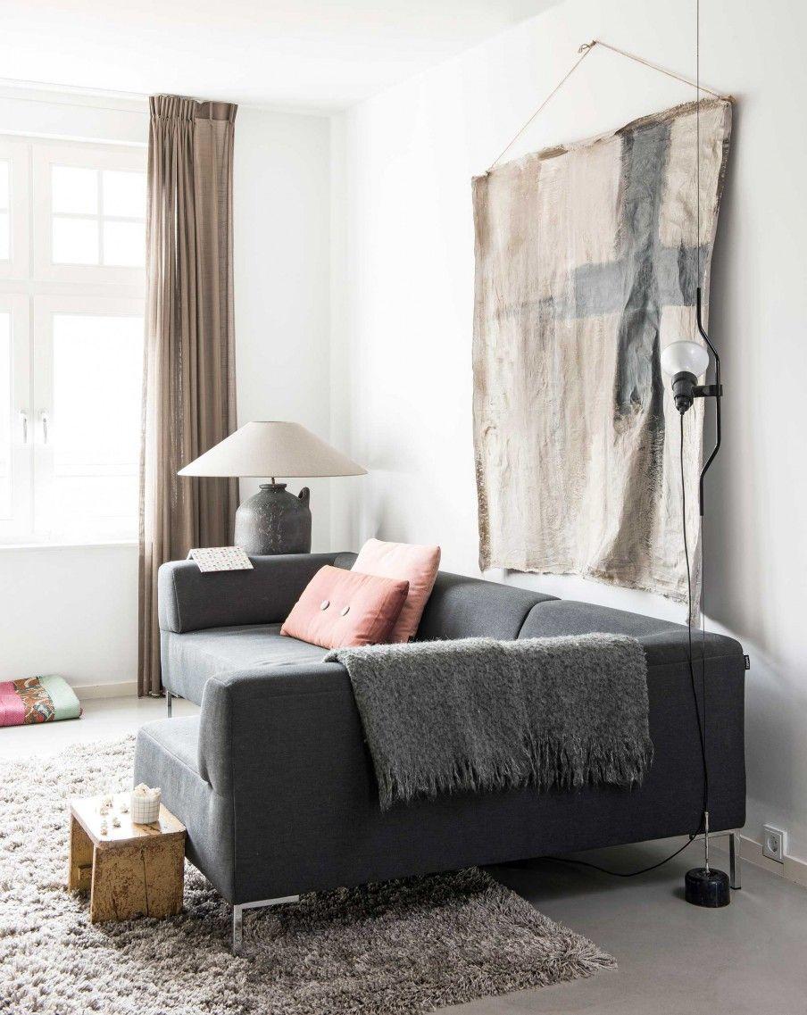 Woonkamer livingroom vtwonen 08 2016 photography louis lemaire styling inge van - Interieurontwerp thuis kleur ...