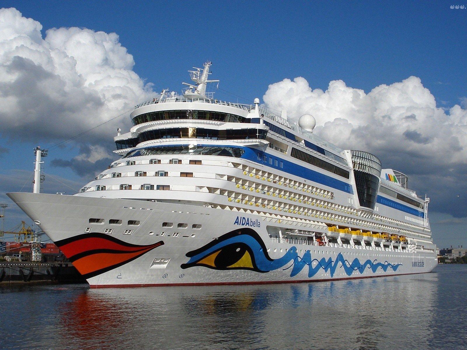 Aida Bella Ship Wallpaper In X Aida Cruise Ship Liner - Columbo cruise ship