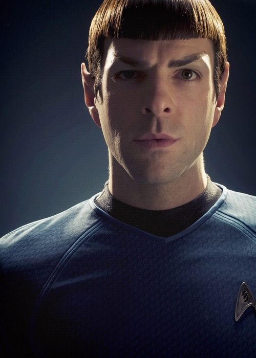 Spock-Zachary Quinto<< I honestly thought this movie was amazing in so many ways. Zachary Quinto did an AMAZING job