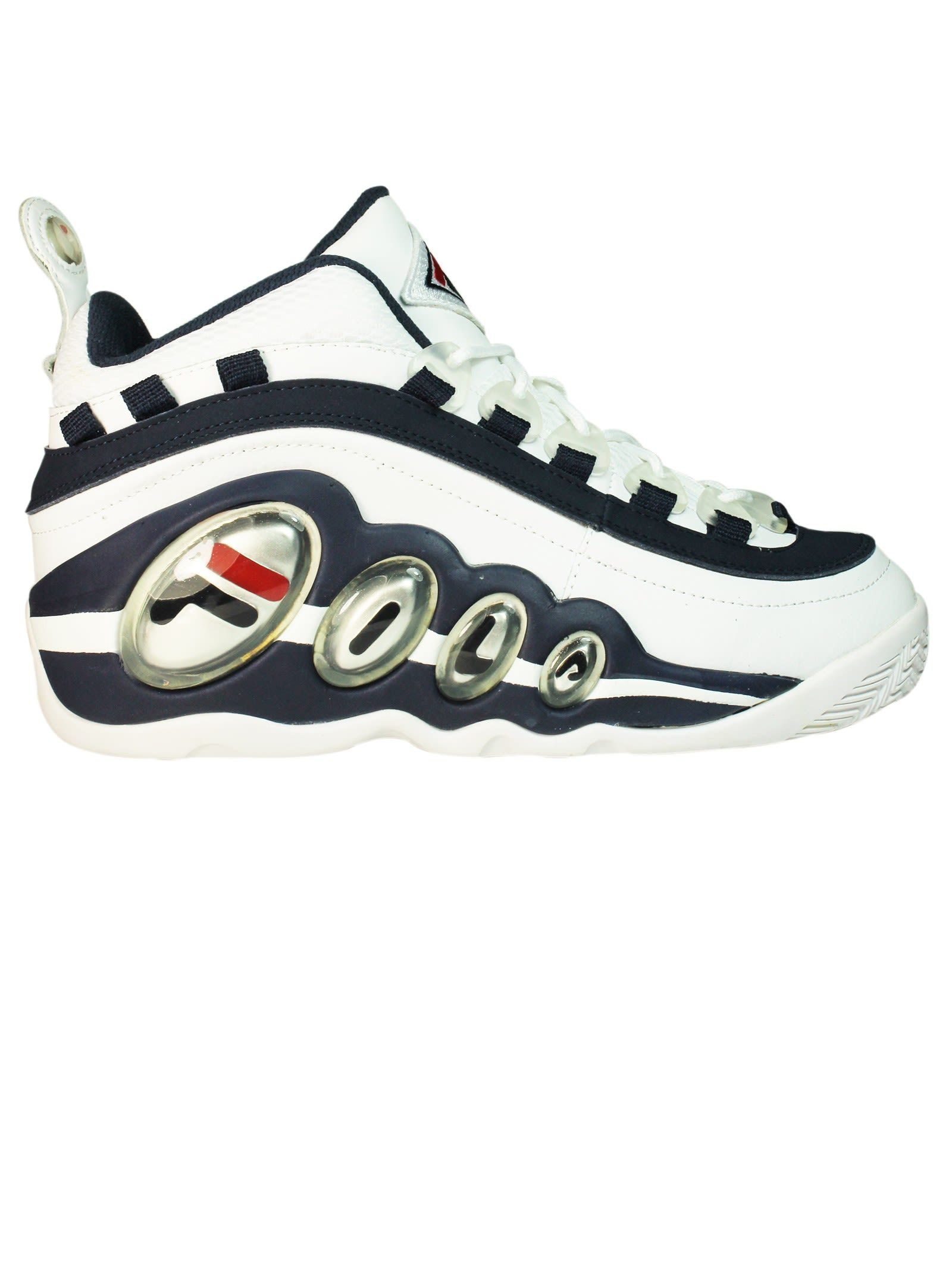 dd3477c8c8e3 FILA WHITE BLUE BUBBLES MID SNEAKERS.  fila  shoes