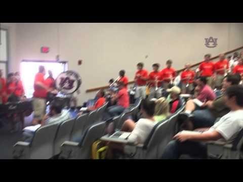Auburn Basketball Classroom Takeover Youtube Auburn