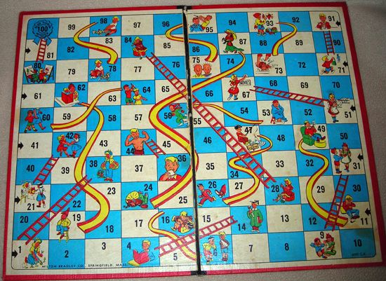 chutes and ladders even as a toddler i thought this was a stupid