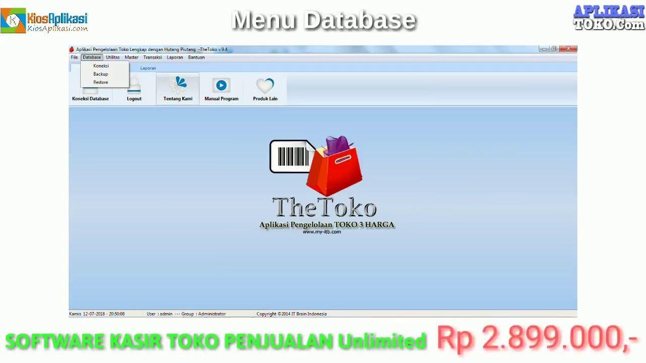 Software Kasir Toko Sederhana Pos 7 7 Gratis Full Version Sederhana Aplikasi
