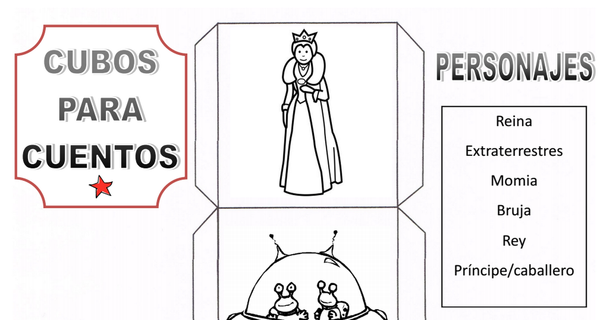 CUBOS PARA CUENTOS.pdf | narración | Pinterest | Kind