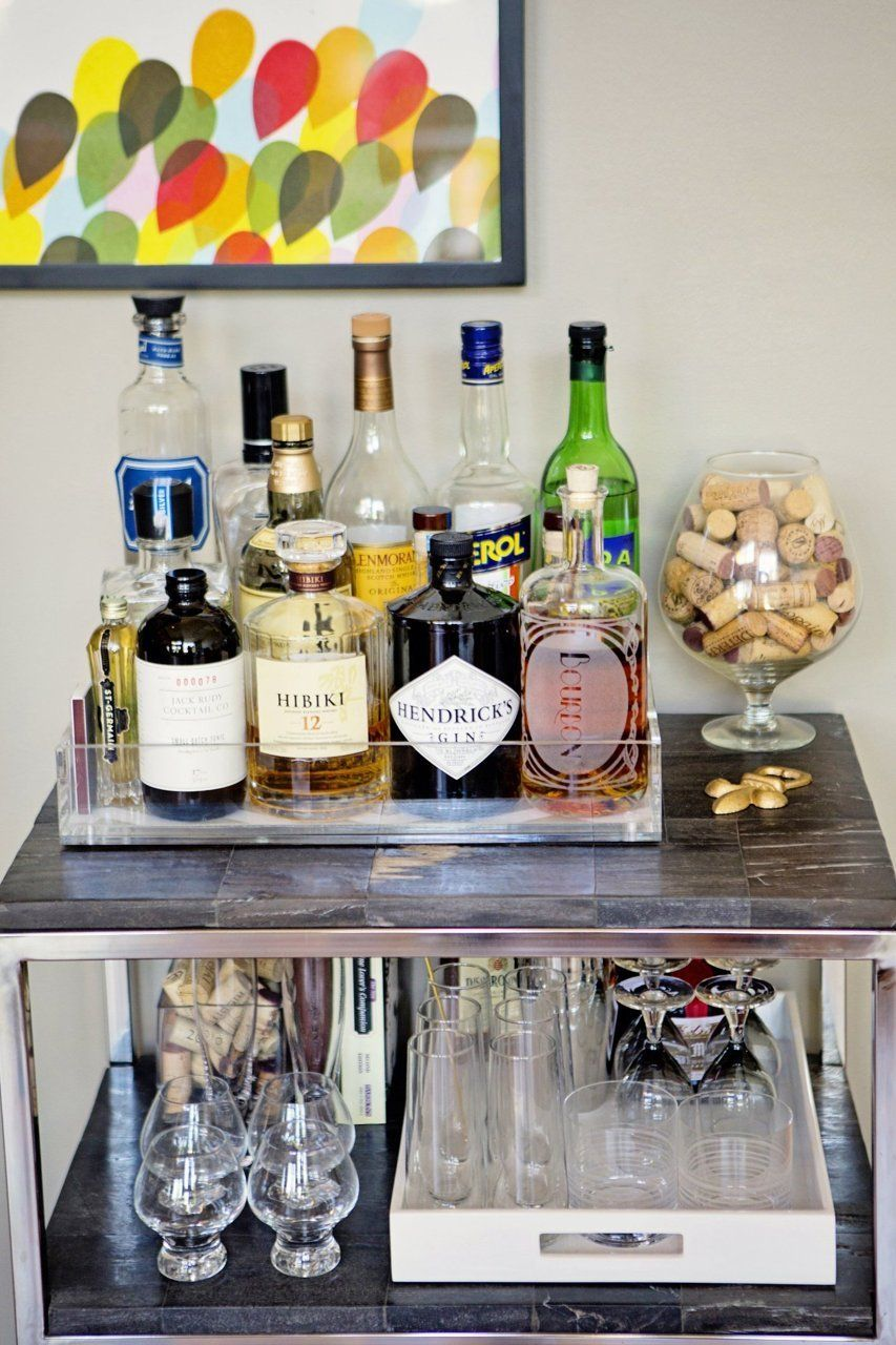 Erin S Casually Sophisticated Modern Loft Home Bar Decor Bar