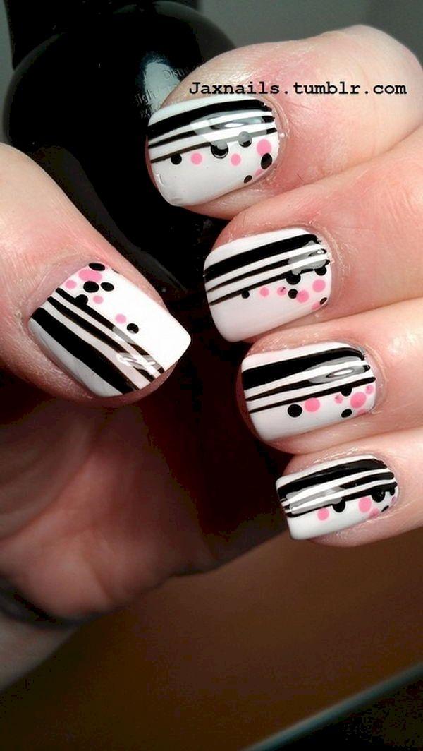 10. Polka Dot Stripes