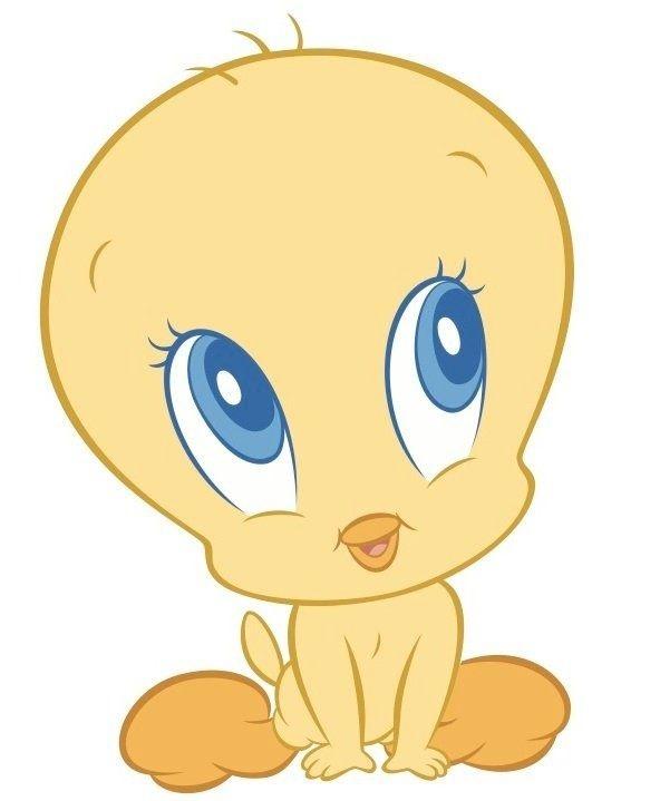 Baby Tweety Baby Looney Tunes Tweety Vintage Cartoon