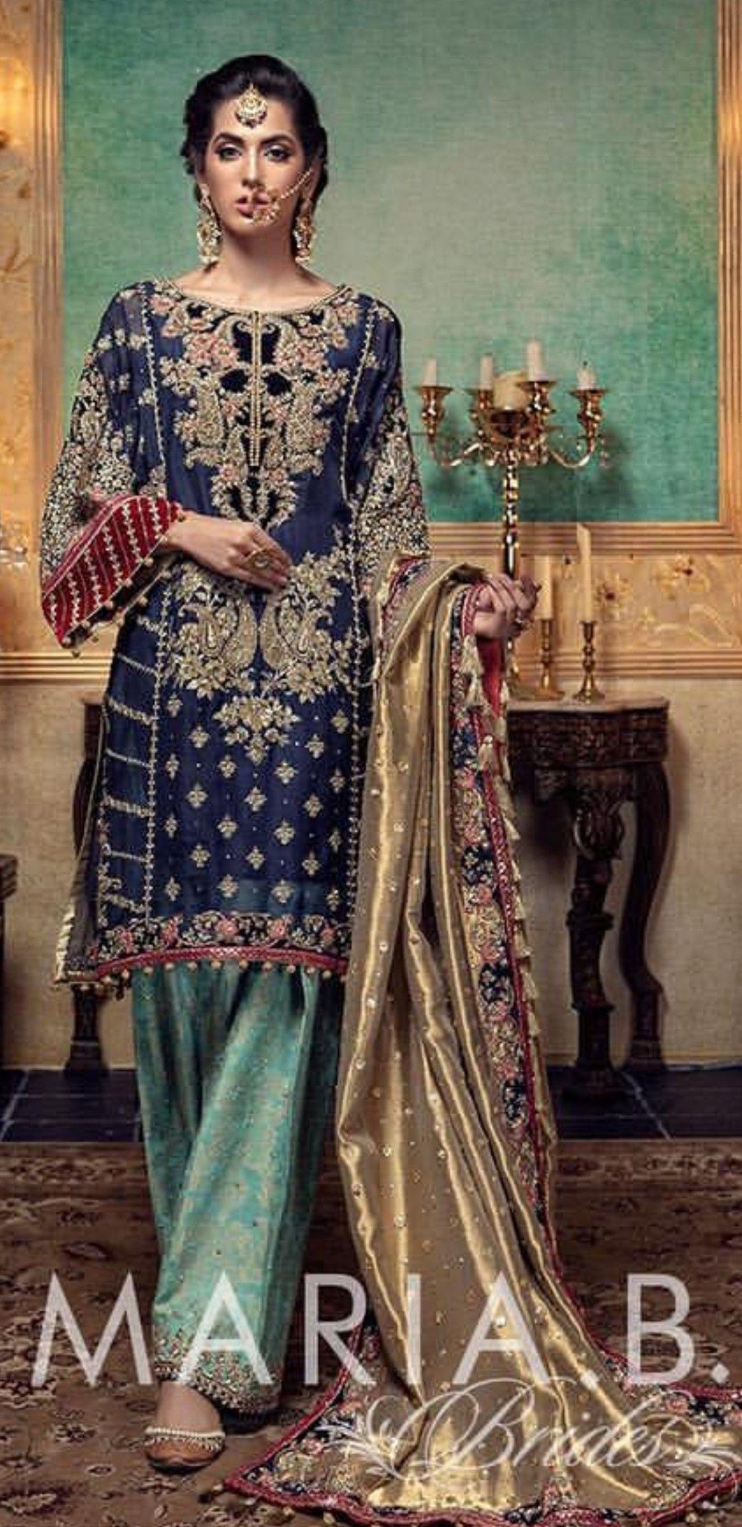 Pin von Fiza auf My wardrobe   Pakistanische kleider ...