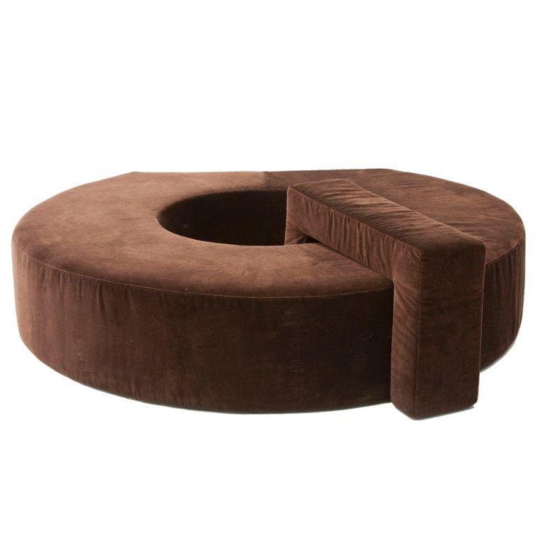 Circluar Sofa Designed By Pierre Cardin