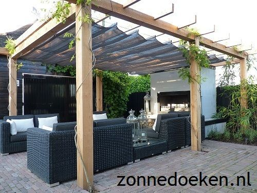 www.zonnedoeken.n ...,  #gartenhaus #zonnedoeken, #terassenüberdachung