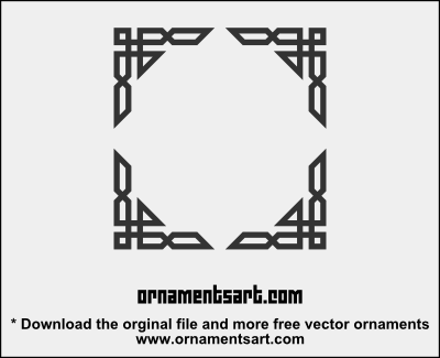 Islamic frame border you can use or edit this art work as you islamic vector ornaments on behance thecheapjerseys Image collections