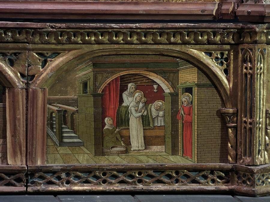 Vittore Crivelli - Polittico dell'Incoronazione della Vergine, predella - 1480-1489 - Pinacoteca Civica Vittore Crivelli, Sant'Elpidio a Mare (Fermo, Marche)