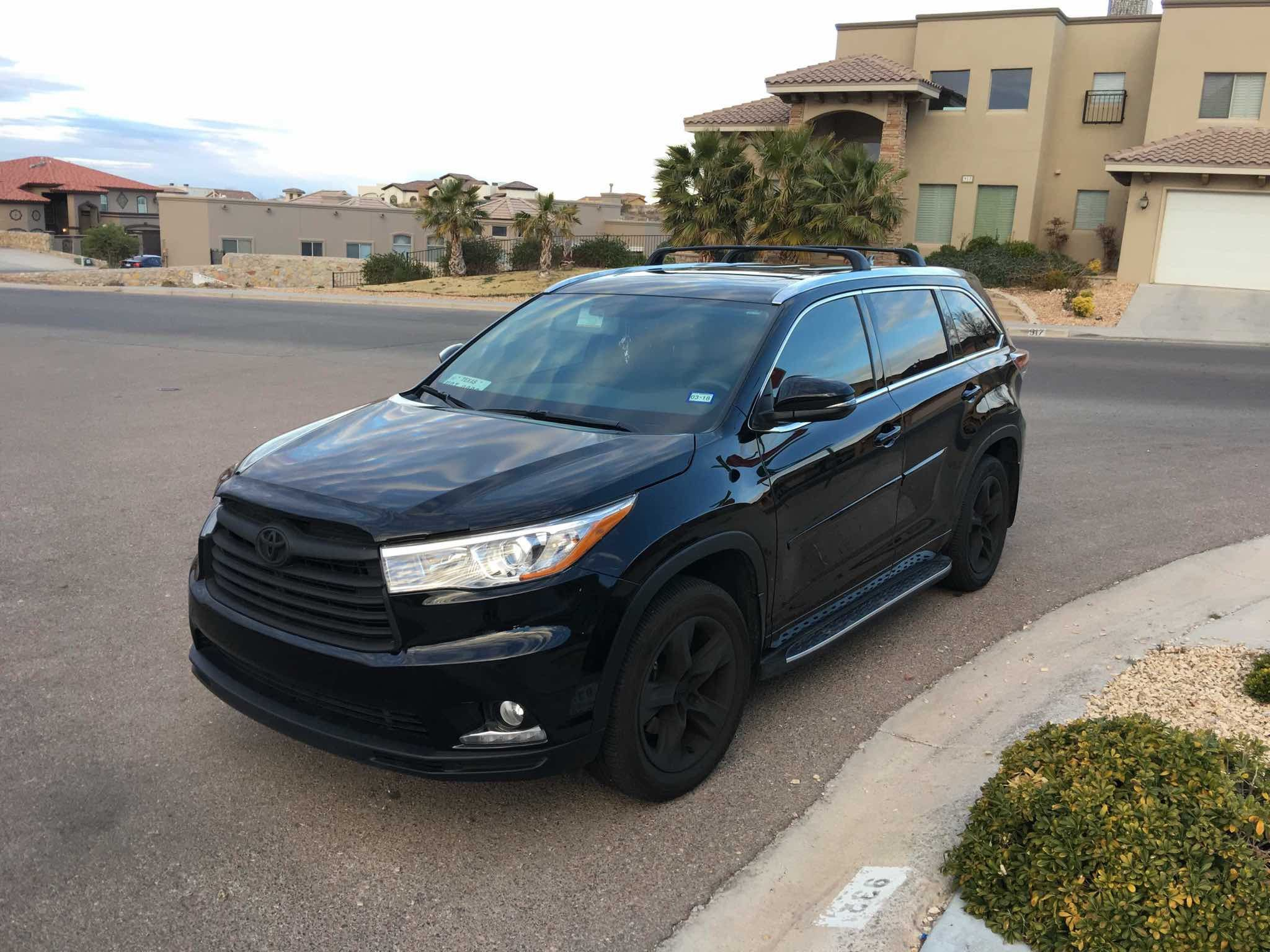 2018 Toyota Highlander Black Grill Inspirational How Can I My 17 Xle To Have A Like The Se