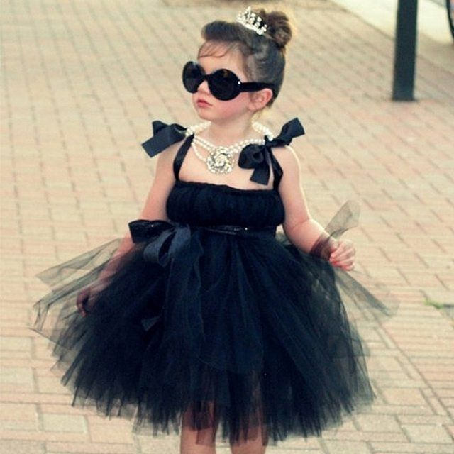 There. Are. No. Words!! Our minds are blown with how cute (and saucy) this little flower girl is! Xoxo @weddingchicks PC: @atutudes #flowergirl #tutu #dress #black #style #wedding