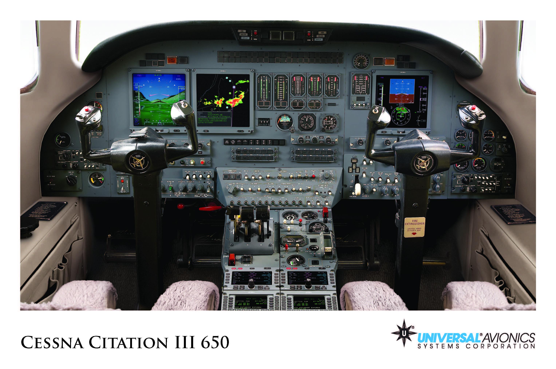 Universal Avionics Cessna Citation III 650 (1) Display