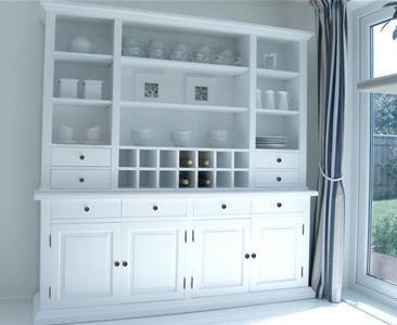 New England White Dresser Dining Room Pinterest Dresser And Large Dresser