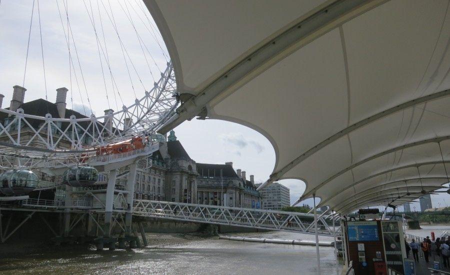 The London Eye Outdoor Canopy Gazebo Backyard Canopy