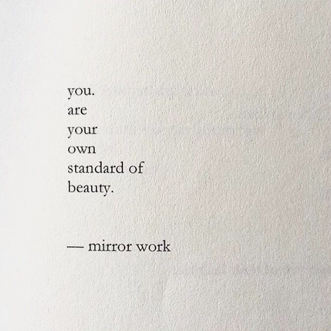Beauty Standard Nayyirah Waheed Quotes Pinterest
