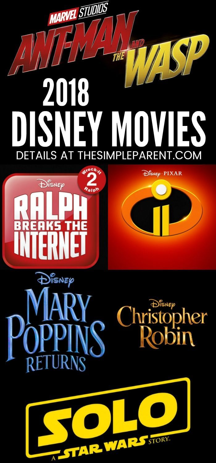 Disney Movies Coming Out in 2018 Check out this list of