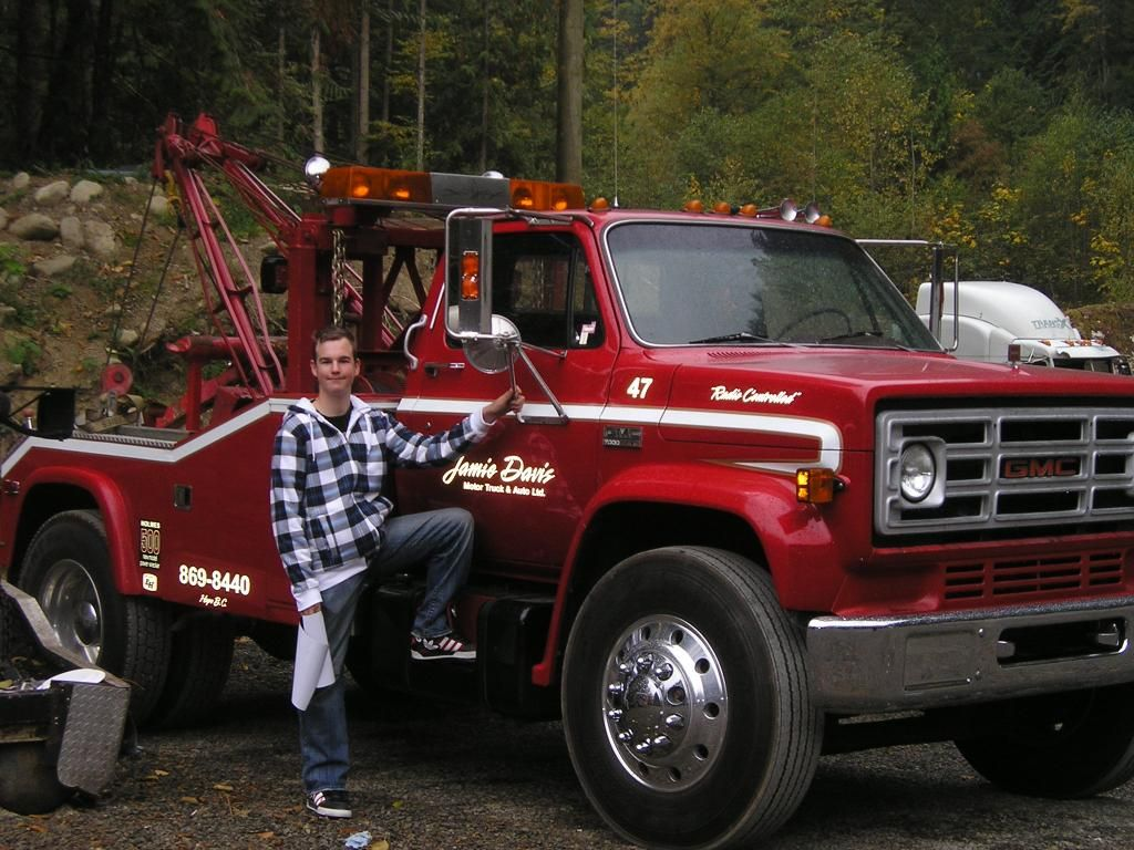 Jamie Davis Truck 47 Tow Truck Trucks Jamie Davis